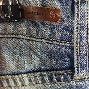 Pilcro and the Letterpress Jeans - Pilcro & The Letterpress Crop Hyphen Jean 28